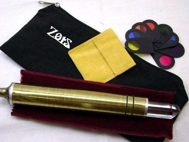 bastão cromático led zots  caneta cromática
