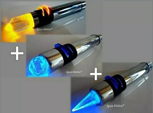 bastão cromoterapia+ caneta cromopuntur+bastão massageador