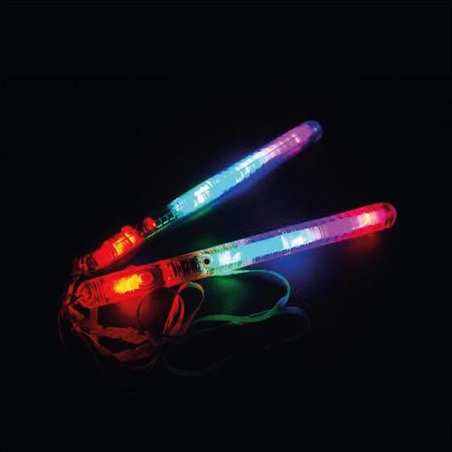 bastão de led p/ festas kit 12 unidades