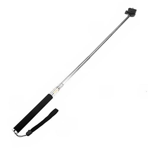 bastão de mão para filmadora gopro monopod 97cm + tripod