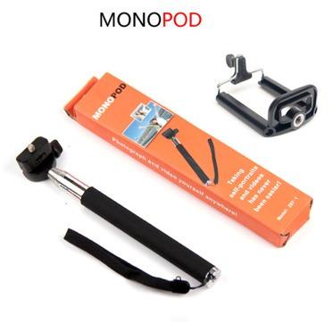 bastão de mão telescópico monopod smartphone celular self