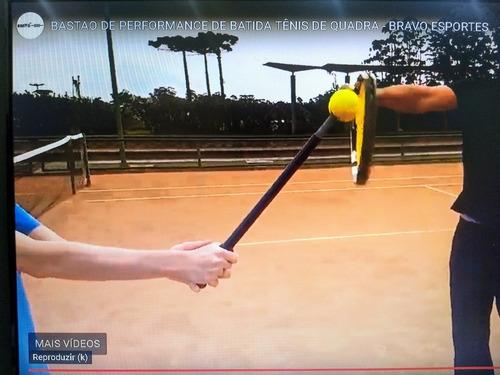 bastão de performance tênis de quadra treinamento batida