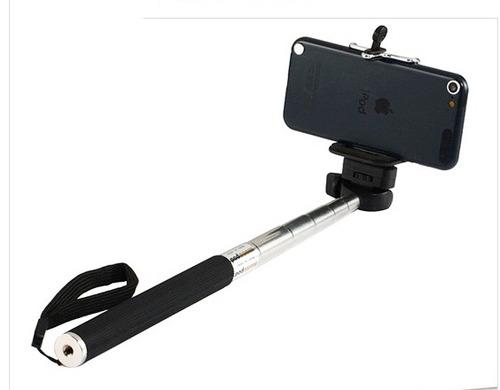 bastão extensor pau de selfie iphone moto x, go pro