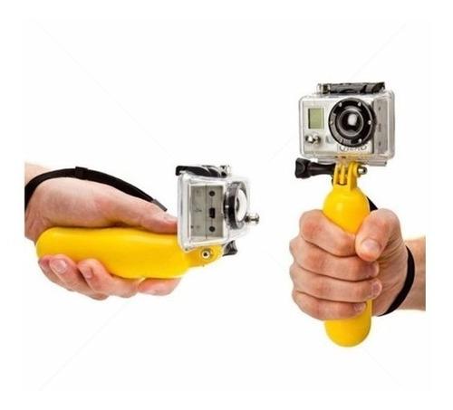 bastão flutuante boia gopro eken sportscam sjcam actioncam