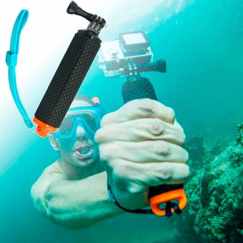 bastão flutuante gopro hero 5 4 3+ 3 2 câmera sj4000 sj5000