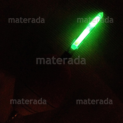 bastão luminoso 40 pç 6x50mm  pesca noturna carpa corimba