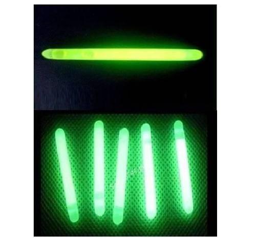 bastão luminoso luz química 15 cm - tipo cyalume