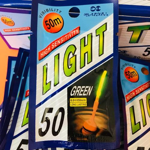 bastão luminoso para pesca/luz química6.0x50 caixa c/ 50 pcs