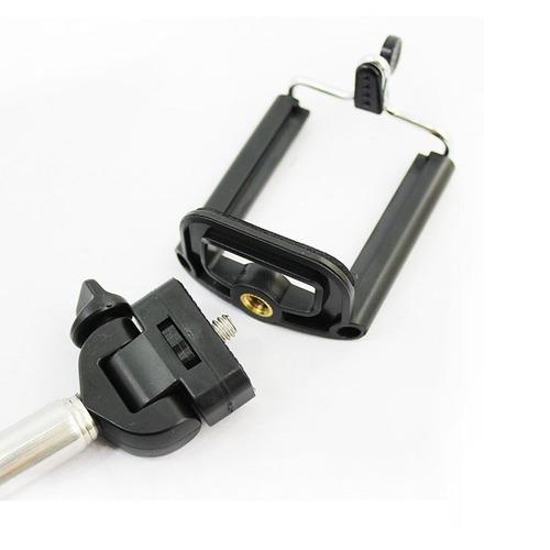 bastão monopod + controle remoto bluetooth shutter celular