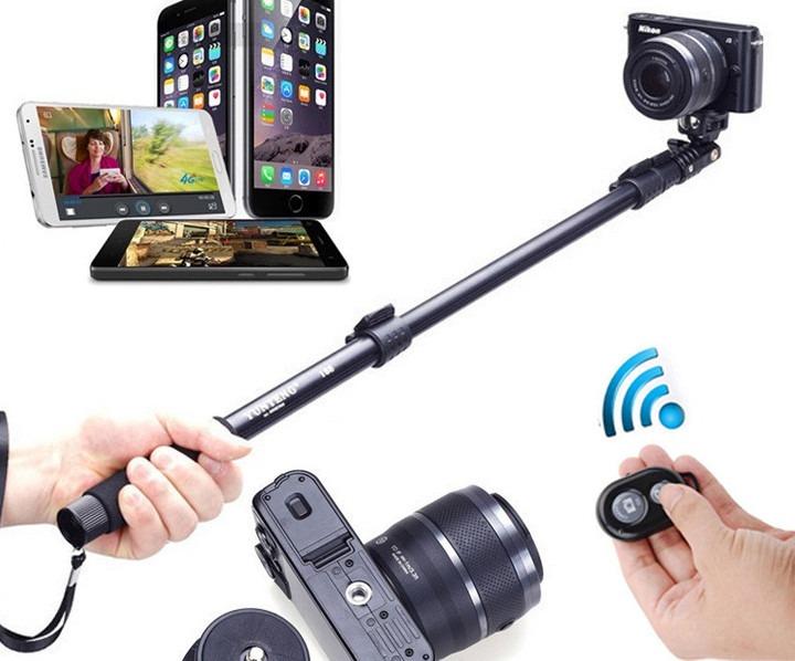 bast o pau de selfie 1 23m p iphone 6 5 4 3 frete gr tis r 114 99 em merc. Black Bedroom Furniture Sets. Home Design Ideas