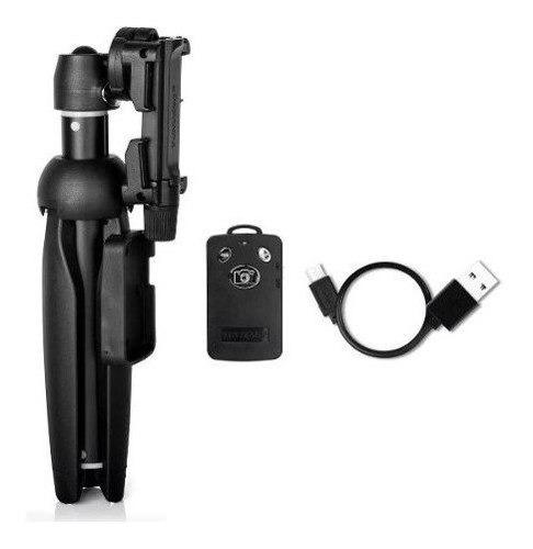 bastão pau de selfie e tripe bluetooth para celular - câmera