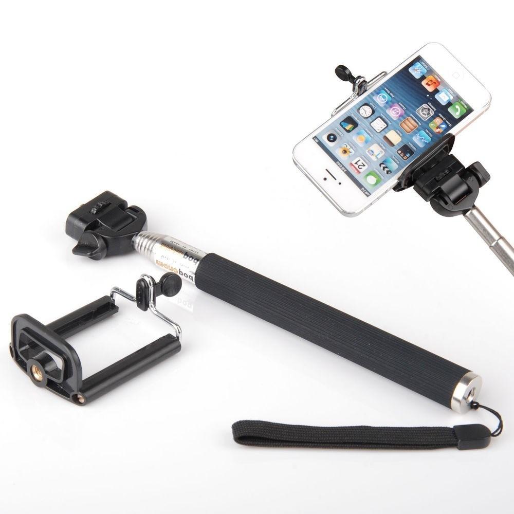 bast o pau de selfie monopod go pro retr til iprone celular r 31 99 em mer. Black Bedroom Furniture Sets. Home Design Ideas