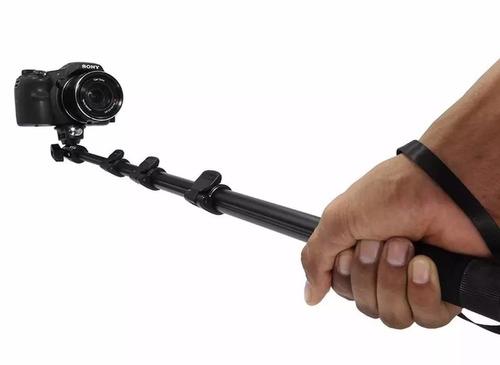 bastão pau de selfie monopod monopé câmera profissional c188
