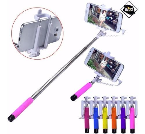 bastão pau de selfie monopod suporte de mão celular p2