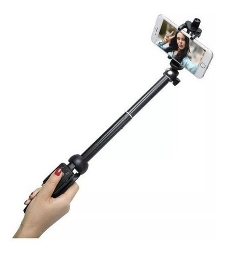 bastão pau de selfie/tripe bluetooth para celular e câmera