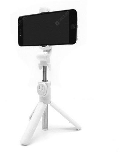 bastón 2 en 1 monopod selfie bluetooth y trípode p/ celular