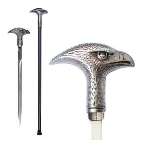 bastón con espada oculta acero águila