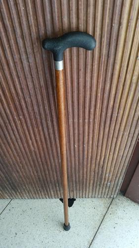 bastón de madera. alto 88 centímetros.