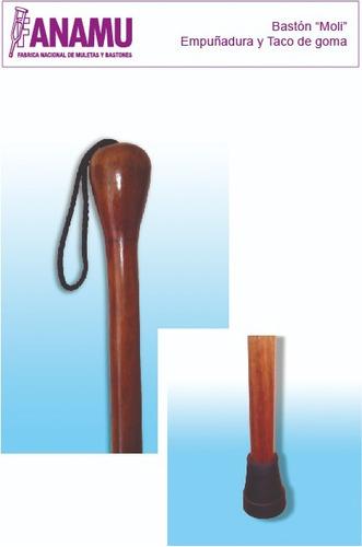 baston de madera  y cuerda modelo moli