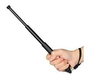 bastón extensible tactico flexible defensa funda machete seguridad mini tonfa palo cachiporra - lanús