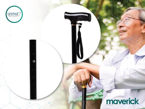 bastón ortopédico en t maverick 1 año de garantía