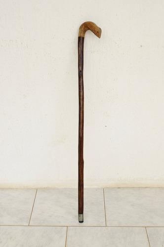 baston ortopedico madera solido elegante usado buen estado