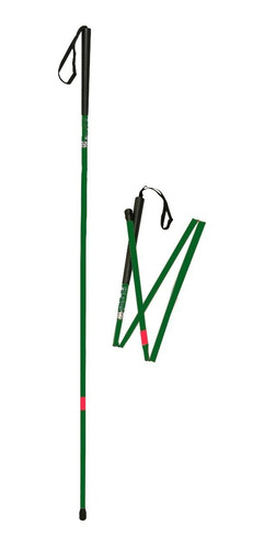 baston para vision reducida - plegable - de aluminio. silfab