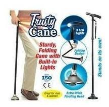 baston plegable ajustable linterna led trusty cane tv 5 nive