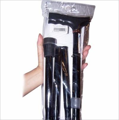 baston plegable en aluminio ajustable antideslizante