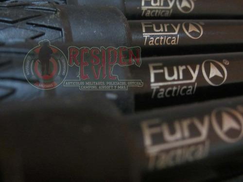bastón retráctil fury 26 pulgadas defensa personal acero
