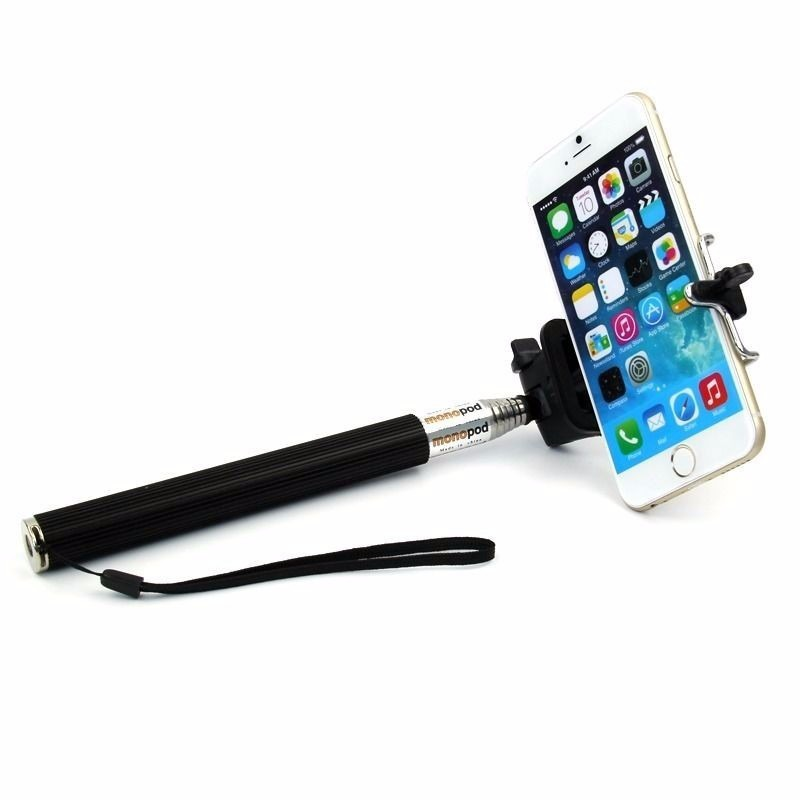 baston selfie stick con boton celular iphone android camara en mercado libre. Black Bedroom Furniture Sets. Home Design Ideas