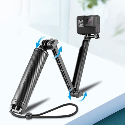baston selfie stick monopod flotador gopro 3-way contra agua