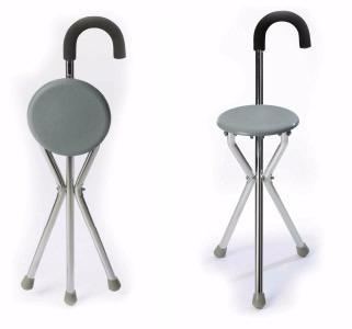 baston silla silla asiento banco de aluminio ideal colas