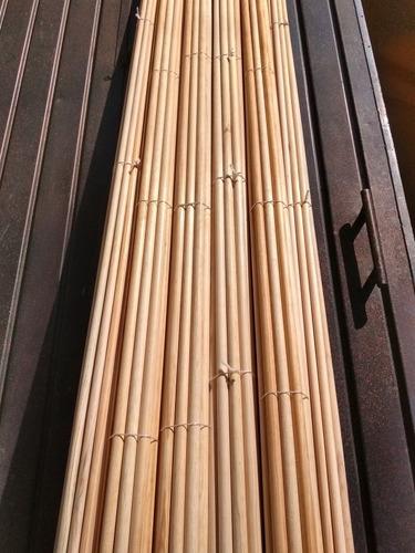 bastones de madera para cortinero de    1   x 2.50m