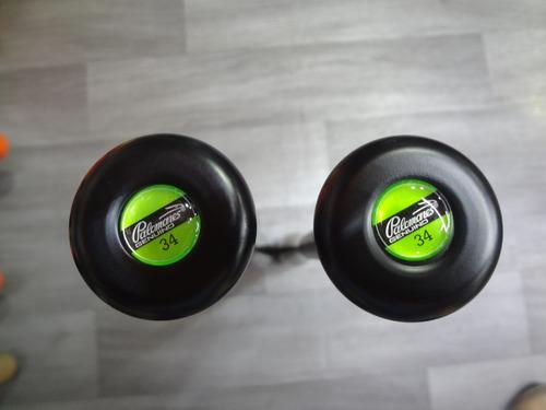 bat aluminio 34x29 beisbol botellon palomares tpx  7050