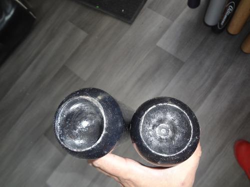 bat beisbol madera #3,4 o 5 negro pelota de regalo palom fpx