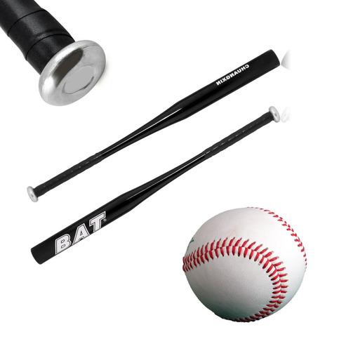bat de baseball - 34 pulgadas (86 cm) c/morado + pelota