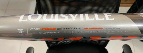 bat softbol armor 34x28 aluminio bate softball louisville