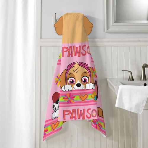 bata baño toalla