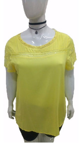 92c8b6590517b6 Bata Blusa Feminina Plus Size Moda Gordinha Grande Senhora