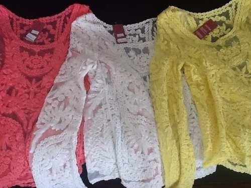 a5f065467c bata blusa camisa renda crochê manga longa gripir 2542 · bata blusa manga  longa