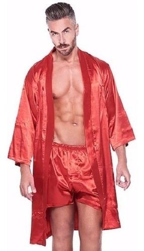 bata + boxer narciso 1 calidad tipo seda regalo ideal hombre