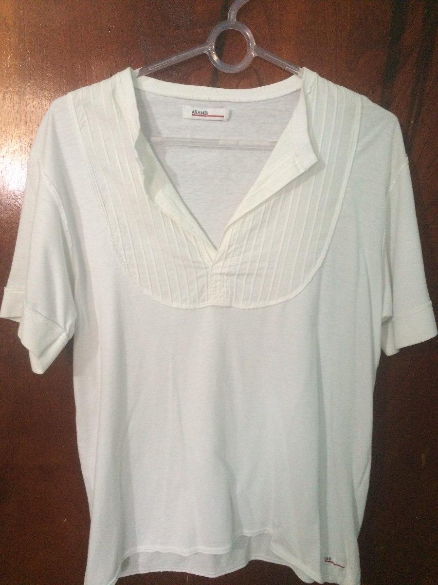 fb3f122445888 bata camisa masculina branca praia manga curta homem aramis. Carregando  zoom.