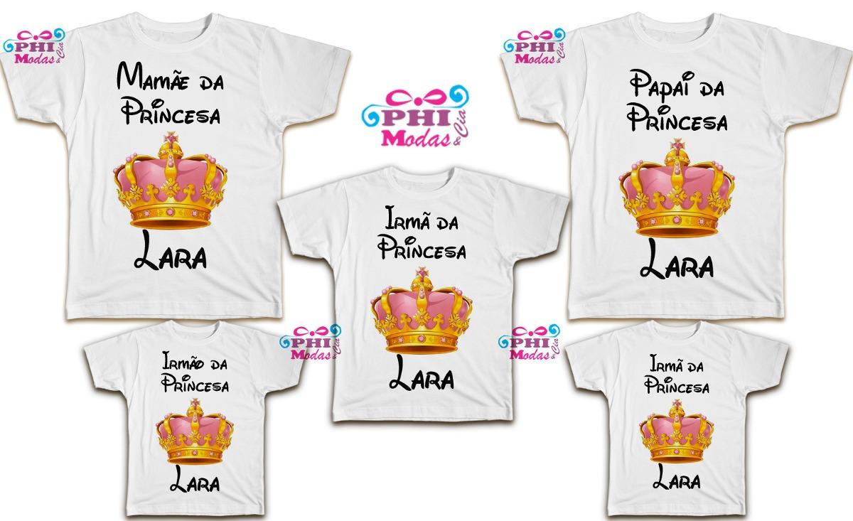 253e91630 bata camiseta kit aniversário família 5 peças personalizadas. Carregando  zoom.