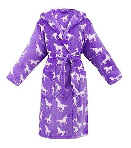 bata de baño corta con capucha forrada de lujo para mujeres