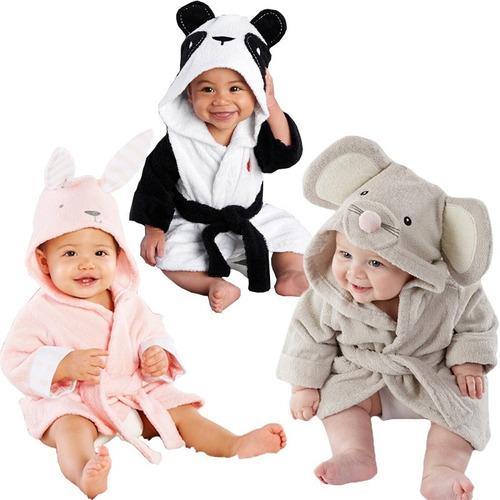 bata de baño   infantil animales  bebe