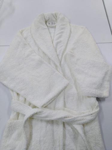 bata de baño  levantadora absorbente 100% algodón mujer