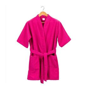 Bata De Baño Mujer Talla M /rosada