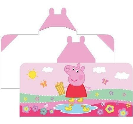bata de baño para niña peppa pig  original