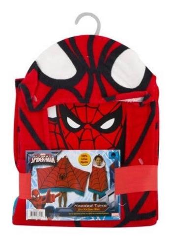 bata de baño para niño spider-man original